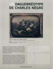 Un daguerréotype de Charles Nègre