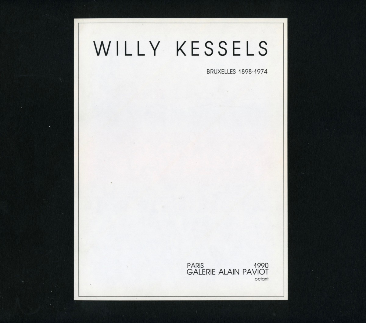 willy-kessels_françoise-paviot